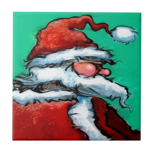 Santa Claus Ceramic Tile