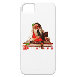 Santa Claus Checking His List Case For The iPhone 5