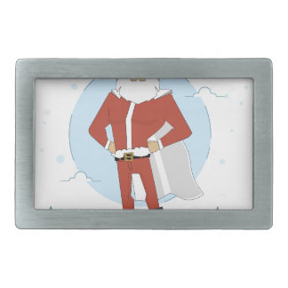 santa claus christmas belt buckles