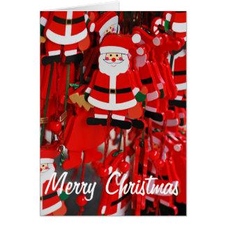 Santa Claus christmas decoration Card
