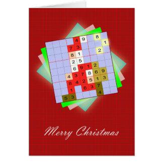 Santa Claus - Christmas figurative Sudoku Card