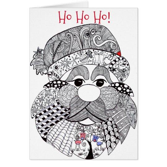 Santa Claus Christmas Greeting Card