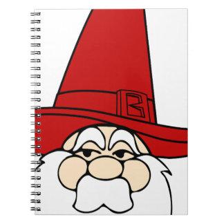 santa-claus christmas holidays joy notebook