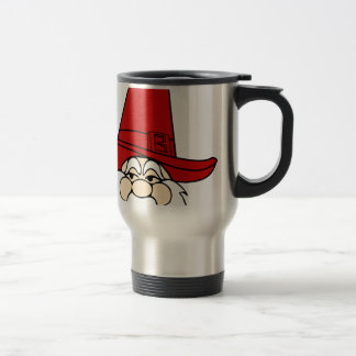 santa-claus christmas holidays joy travel mug