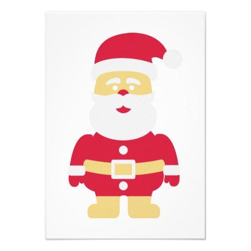 Santa Claus christmas Custom Announcements