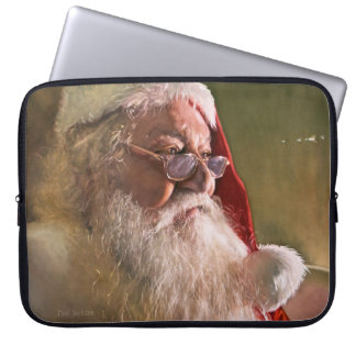 santa Claus Christmas Laptop case 15""
