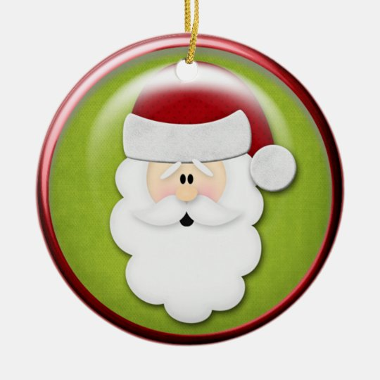 Santa Claus- Christmas Ornament