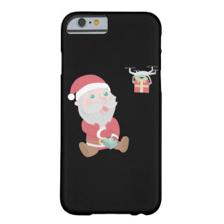 santa claus christmas reindeer snow man barely there iPhone 6 case