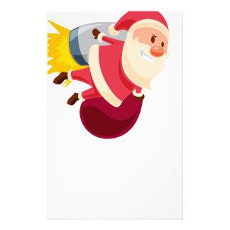 santa claus christmas stationery