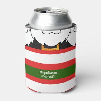 Santa Claus Costume Can Cooler