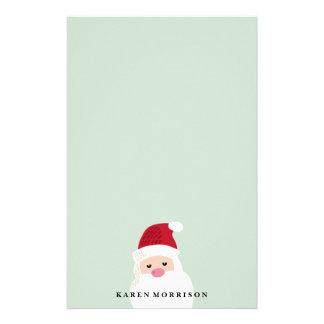 Santa Claus Customizable Holiday Stationery