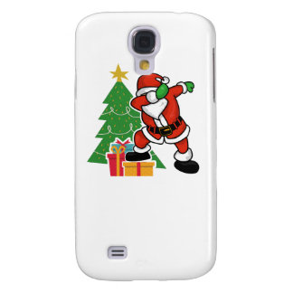 Santa claus dab christmas tree galaxy s4 covers