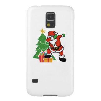 Santa claus dab christmas tree galaxy s5 case