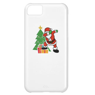 Santa claus dab christmas tree iPhone 5C case