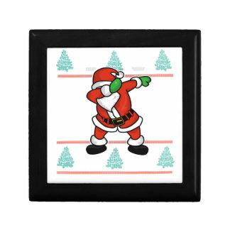 Santa Claus dab dance ugly christmas T-shirt Gift Box
