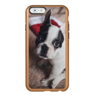 Santa claus dog -funny pug - dog claus incipio feather® shine iPhone 6 case