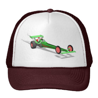 Santa Claus Drag Race Cap