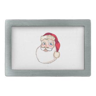 Santa Claus Face Belt Buckle