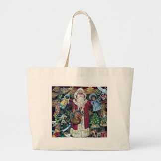 Santa Claus Father Christmas Victorian Art Gifts Bags