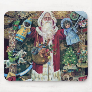 Santa Claus Father Christmas Victorian Art Gifts Mousepads