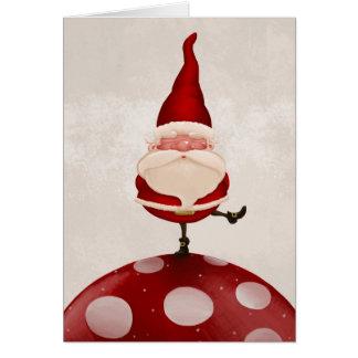 Santa Claus fungus Greeting Cards