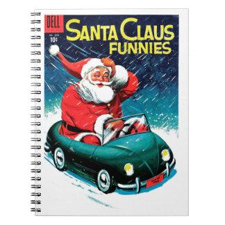 Santa Claus Funnies - Toy Car Notebooks