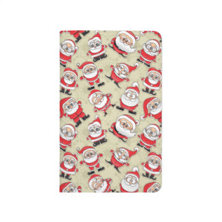 Santa Claus Funny Silly Cute Faces Kris Kringle Journal