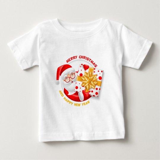 Santa Claus happy new year Baby T-Shirt