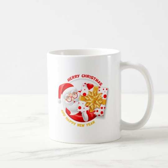Santa Claus happy new year Coffee Mug