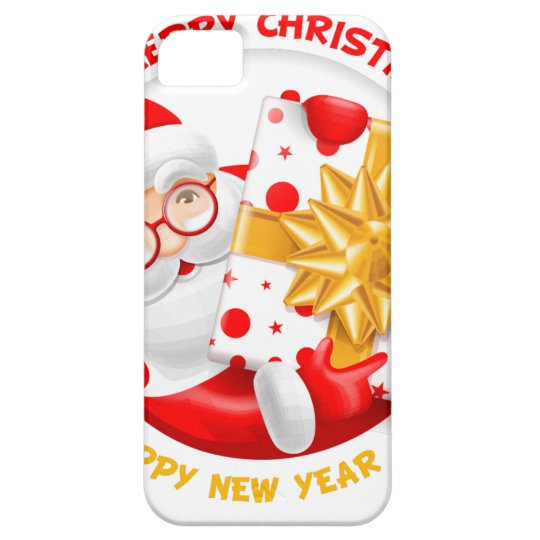 Santa Claus happy new year iPhone 5 Cover