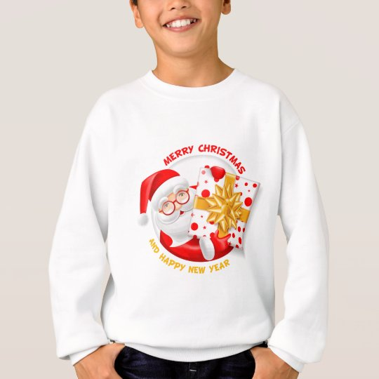 Santa Claus happy new year Sweatshirt