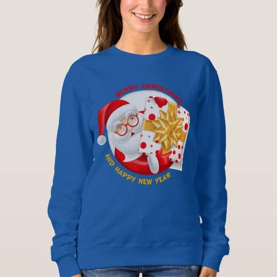 Santa Claus happy new year Sweatshirt