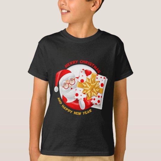 Santa Claus happy new year T-Shirt