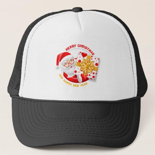 Santa Claus happy new year Trucker Hat