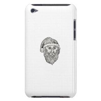 Santa Claus Head Mandala iPod Touch Case-Mate Case