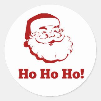 Santa Claus - Ho Ho Ho! Classic Round Sticker