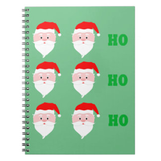 Santa Claus Ho Ho Ho Notebook