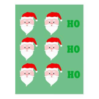 Santa Claus Ho Ho Ho Postcard