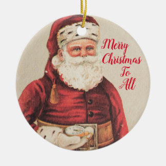 Santa Claus Holiday Ornaments