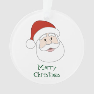 Santa Claus Illustration & Text