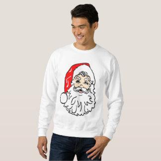 Santa Claus in Red Hat Sweatshirt