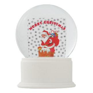Santa Claus is coming... Snow Globe