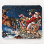 Santa Claus is Comming to Town Mouse Pad
