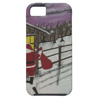 Santa Claus Is Watching Tough iPhone 5 Case