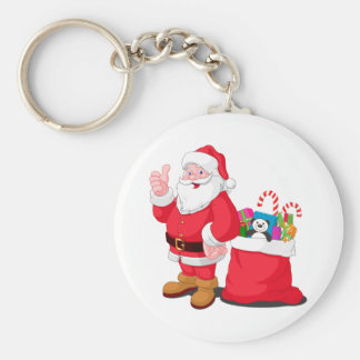 Santa Claus Keychains