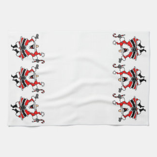 Santa Claus Kitchen Towel