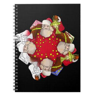 Santa Claus Mandala Notebook