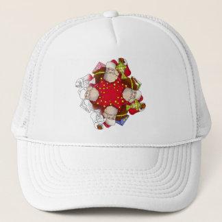 Santa Claus Mandala Trucker Hat