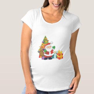 Santa Claus Maternity T-Shirt