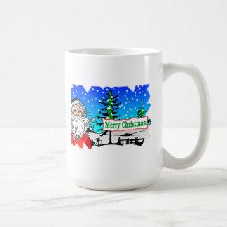 Santa Claus Merry Christmas Mugs